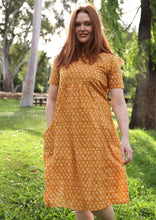 Load image into Gallery viewer, Frankie Dress in Buttercup