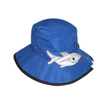 Load image into Gallery viewer, B907 Shark Micro Fibre Swim Hat