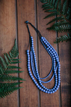 Load image into Gallery viewer, Bella  4 strand Wooden Necklace (many colour options)