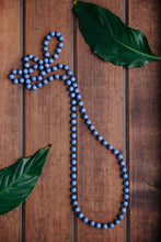 Load image into Gallery viewer, Single Lady Long Wooden Necklace (many colour options)