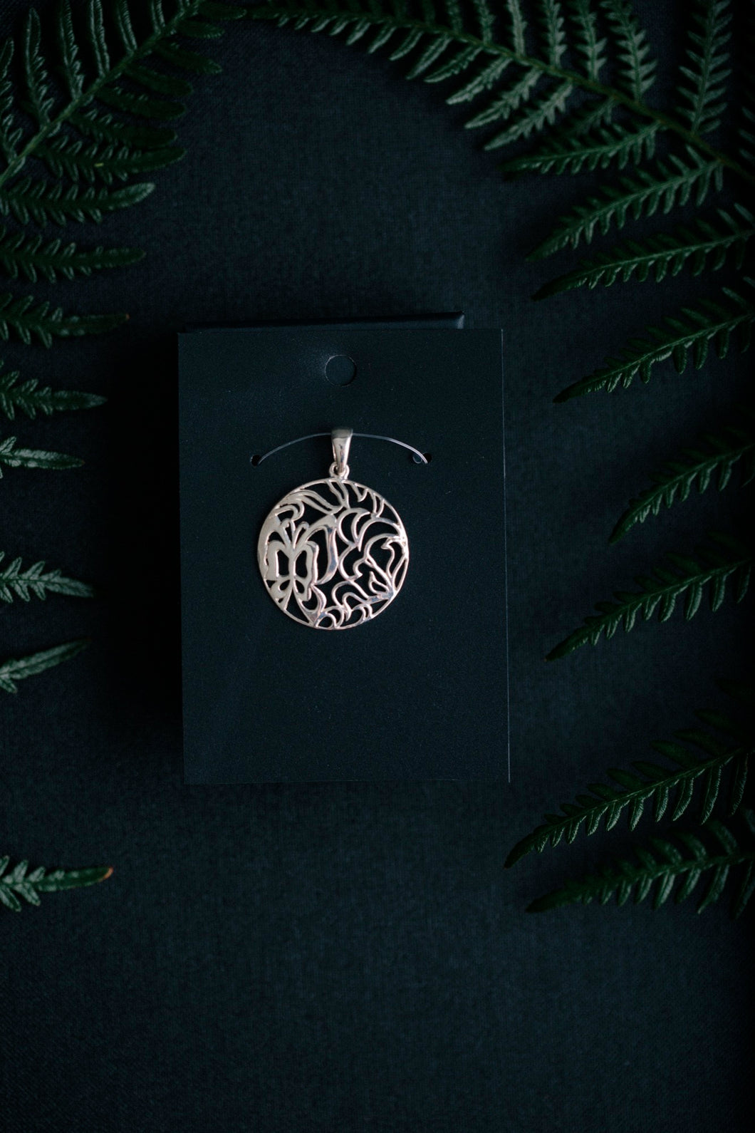 Intricate Sterling Silver Pendant