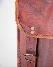 Load image into Gallery viewer, Goat leather Mini backpack rounded corners