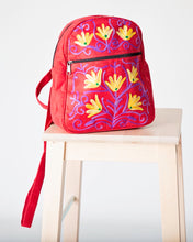 Load image into Gallery viewer, Kashmiri suede mini backpack