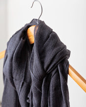 Load image into Gallery viewer, Dark Slate Grey Cashmere Shawl