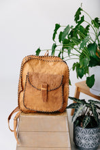 Load image into Gallery viewer, The Steve Village Leather Small Backpack