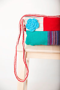 Flower patch side bag