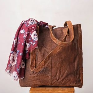 Veronica Village Leather Tote