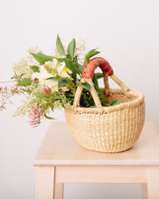Load image into Gallery viewer, Elephant Grass Natural Basket Mini
