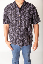 Load image into Gallery viewer, Black Bamboo Men's Shirt