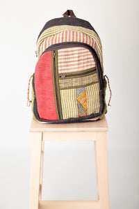 The Simon Backpack Red