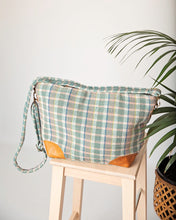 Load image into Gallery viewer, The Lucy Bag Green Check