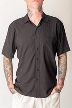 Load image into Gallery viewer, Black  Men's Shirt