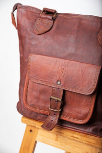Goat's leather shoulder bag
