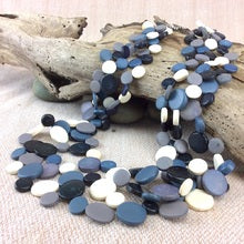 Smarties 3 Strand Coconut Shell Necklace (many colour options)