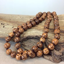 Single Lady Long Wooden Necklace (many colour options)