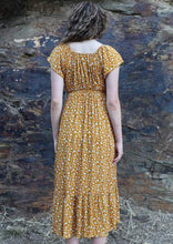 Load image into Gallery viewer, Nakita Dress in Golden Fields