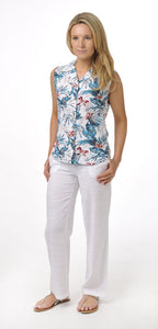 Bamboo Sleeveless Shirt Ladies in Pacific Island