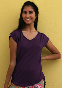 Simple Top V-Neck