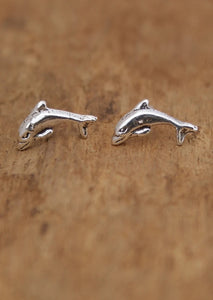Jumping Dolphin Studs