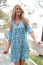 Load image into Gallery viewer, Cold shoulder Tunic Dress in 4 Colours
