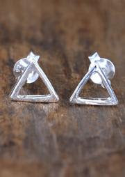 Silver Acute Studs