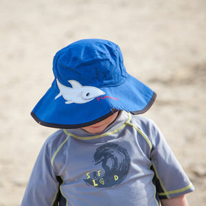 B907 Shark Micro Fibre Swim Hat