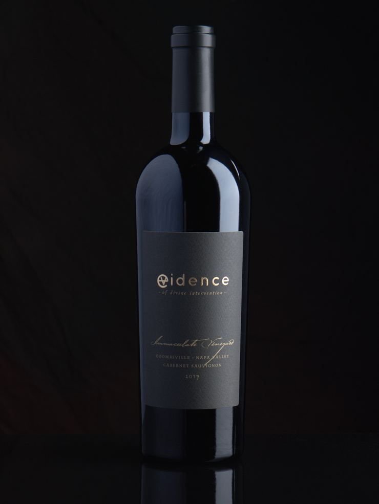 Evidence <br> - of divine intervention - <br> 2017 Coombsville Cabernet Sauvignon