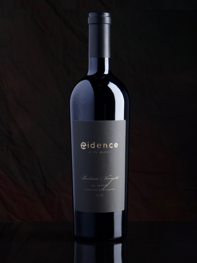 Evidence <br> - of the matter - <br> 2016 Mt. Veeder Cabernet Sauvignon