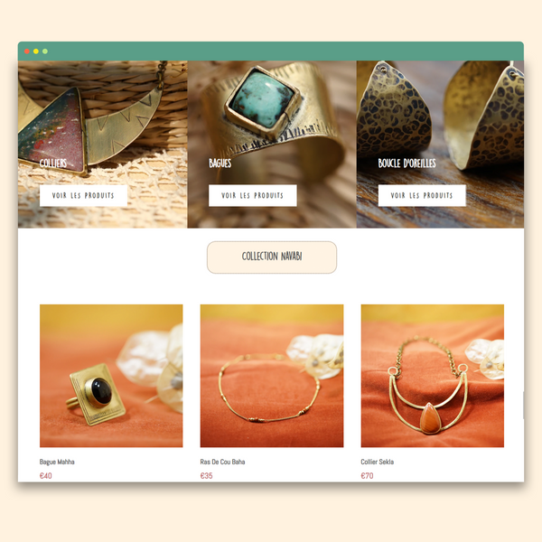 Shopify Design & Development Custom Theme - Natural Spirit Creation