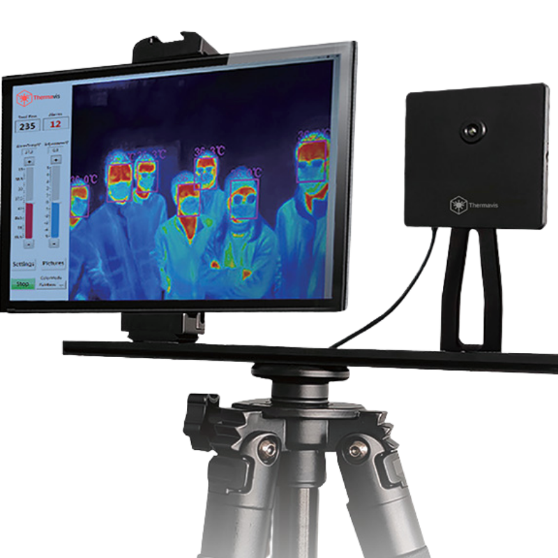 Multi-Person Thermal Screening Camera