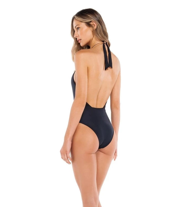 Black Diane Knot One Piece