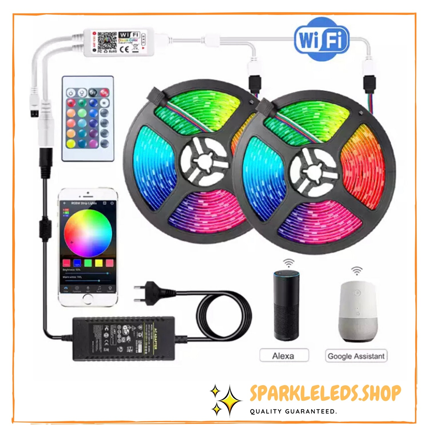 Sparkle Smart LED Strip (WIFI Enabled)