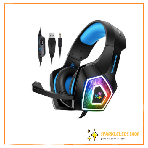 NEW! Sparkle LED Gaming Headset