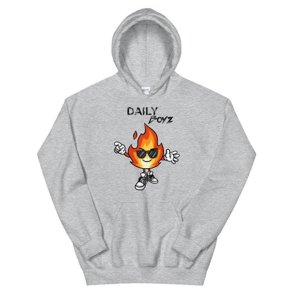 Daily Boyz Flame Hoodie - Deluxe