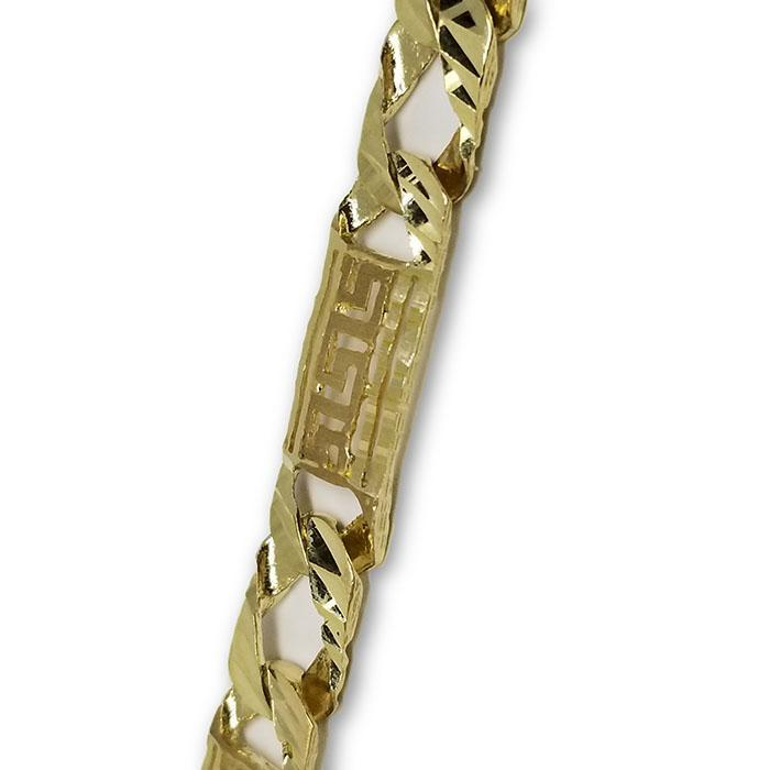 10K Versace 8.3MM Chaine Homme MGC-045 | 10K Versace Chain in gold 8.3MM-Gold Custom