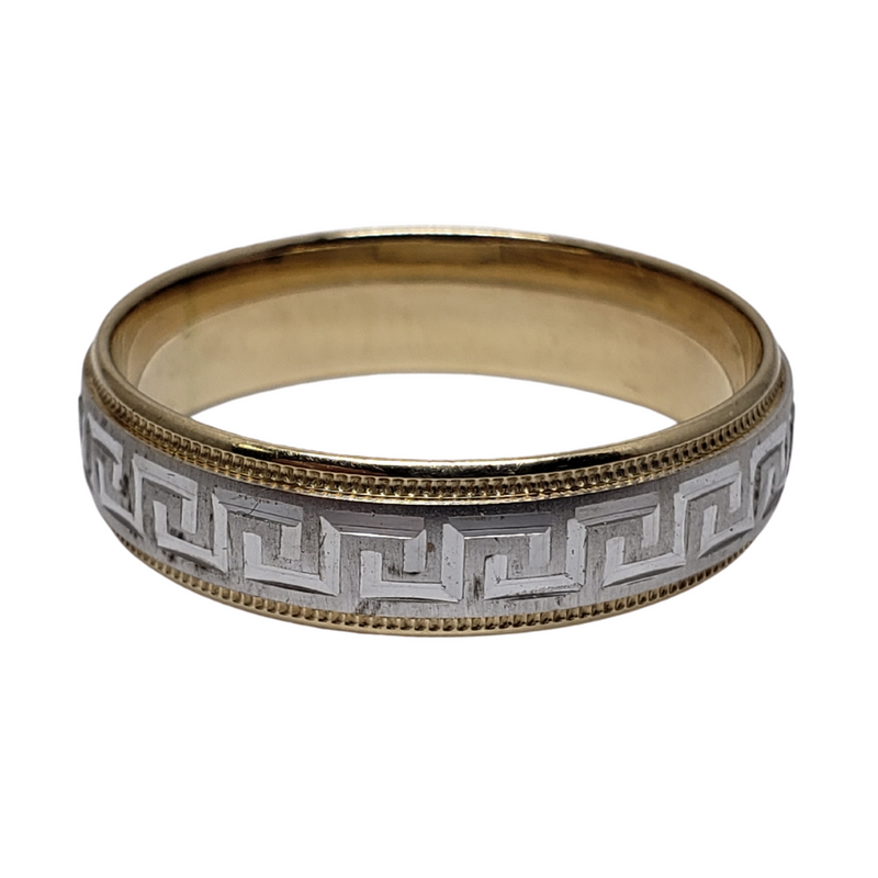 Wedding Band Ring in 10k Yellow Gold WGB-011
