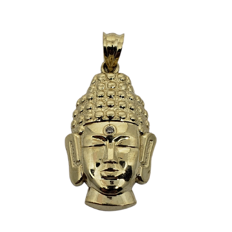 Buddha Pendant 10k Yellow Gold MP-018