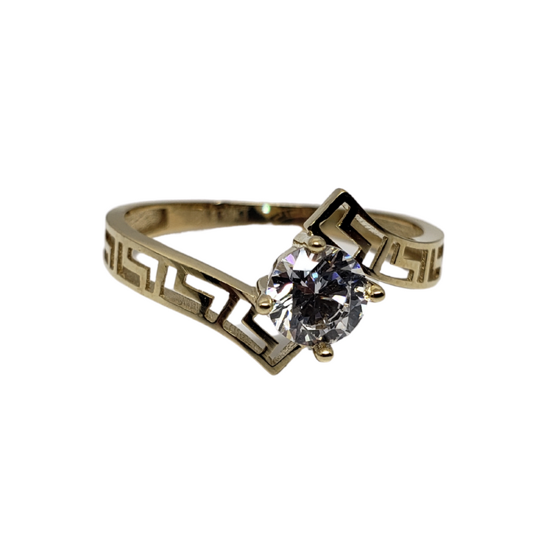 Isabella Gold Ring 10k for Female WR035