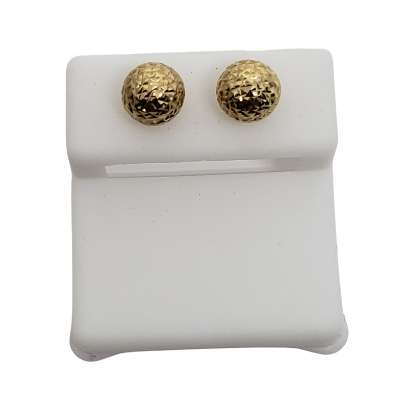 10k Yellow Gold Huggies Earring BD-0031