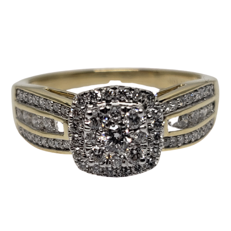 Diamond Ring 0.50ct in 10k Yellow Gold SKR23758-50