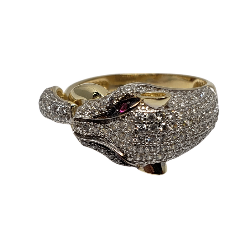 Phanter02 Gold Ring 10k for Female WR044