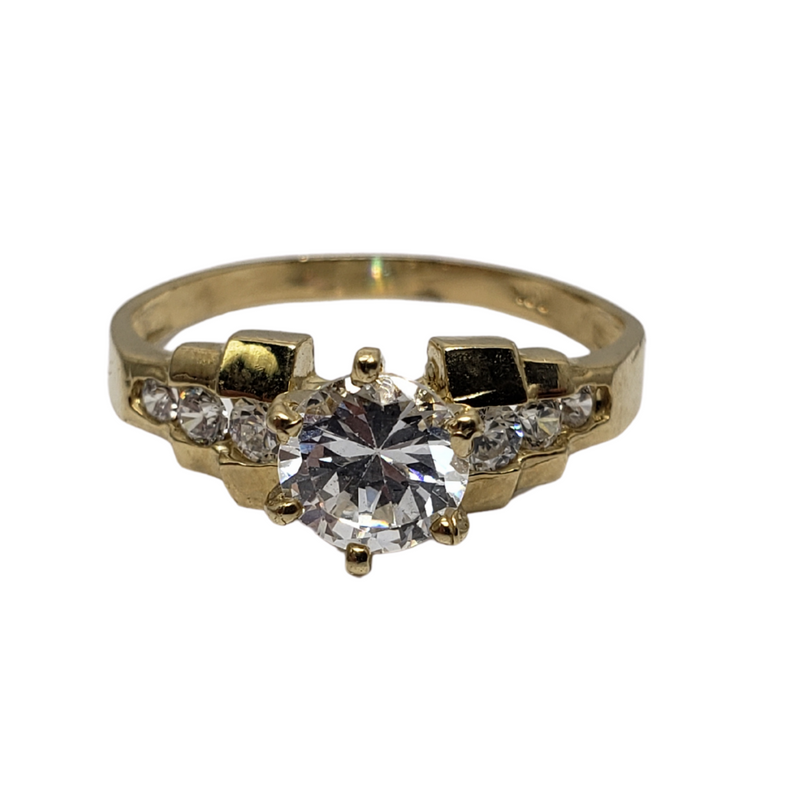 Angelica Gold Ring 10k for Female WR016