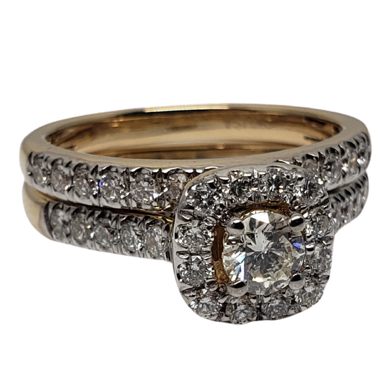 Diamond Ring 14ct in 14k Yellow Gold SKR15450-100