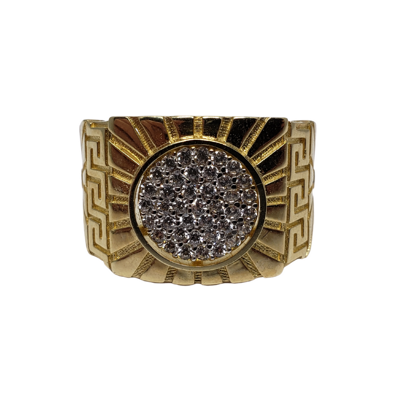 Lioni Gold Ring 10k for Men MR-094