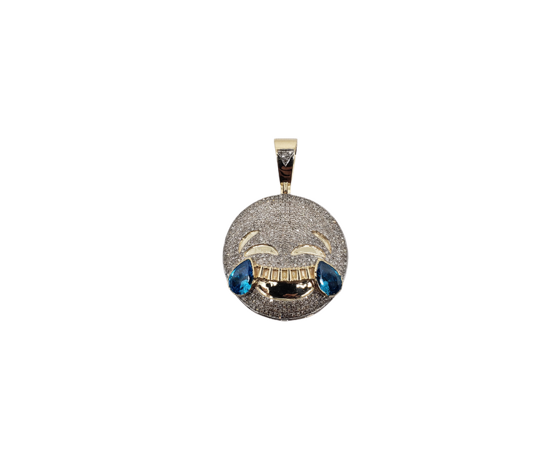 Emoticon Drole 1.25CT Diamond Pendant in 10k Gold DP-0023