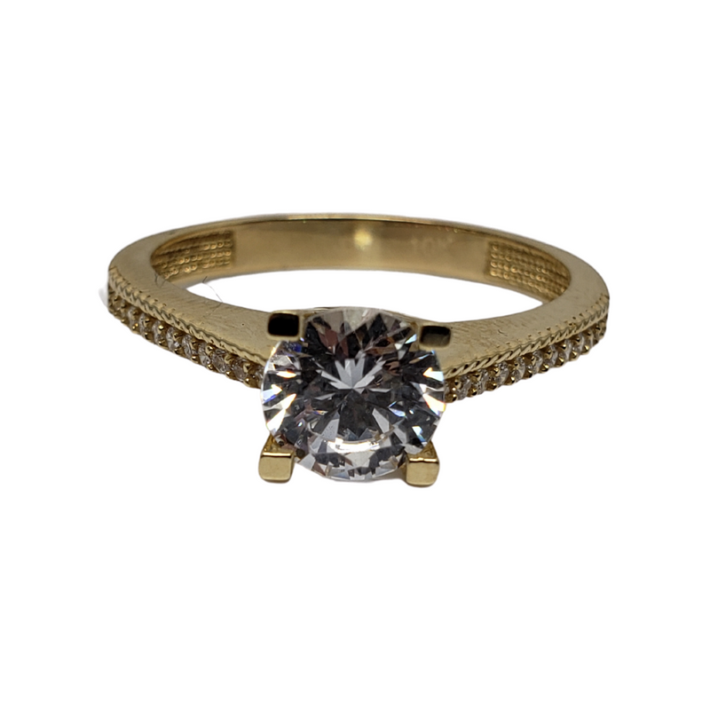 Viviana Gold Ring 10k for Female WR048