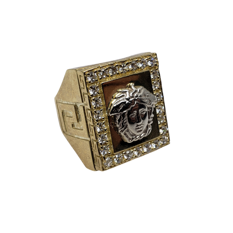 Martini Gold Ring 10k for Men MR-103