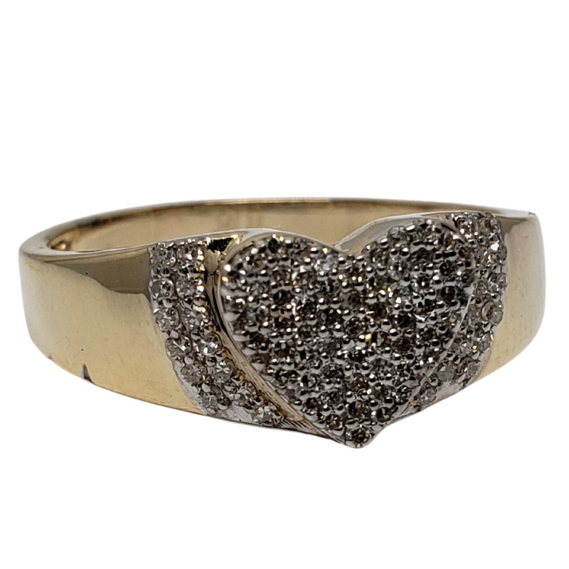 Diamond Ring  in 10k Yellow Gold DYG-004