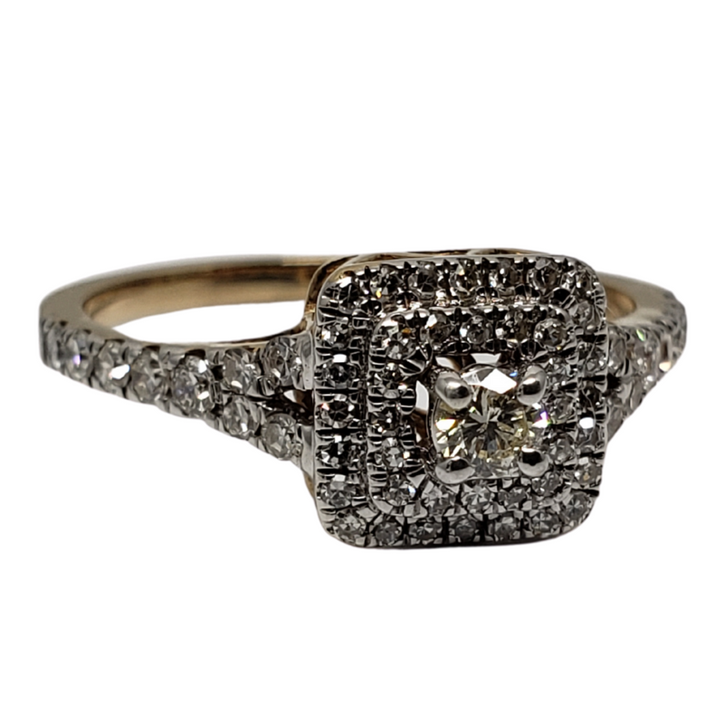 Diamond Ring 0.50ct in 10k Yellow Gold DYG-003