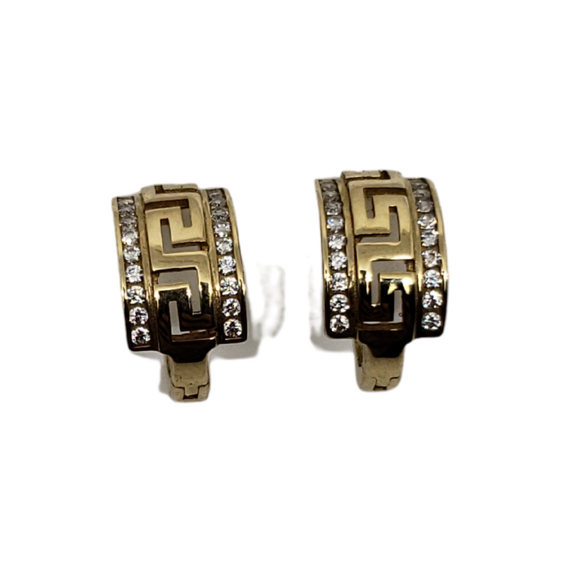 10k Yellow Gold Huggies Earring BD-0016